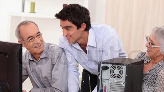 7 pasos para hacer el uso de ordenadores más fácil para las personas mayores